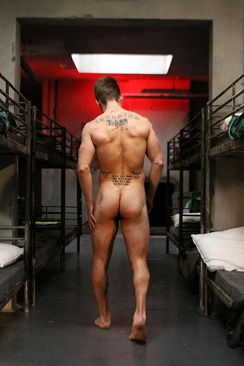 Butt naked military