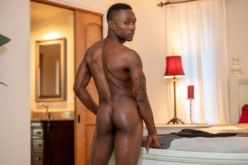 black male butt naked